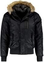 Brave Soul Nolan Winter Jacket Black