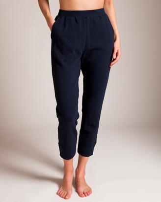 Woolrich Skin Cotton Lycra Jacquard Knit Celina Jogger