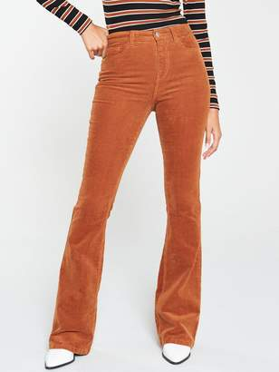 Very Cord Flare Trouser - Camel