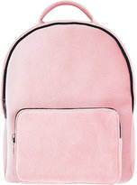 Skinnydip Ladies Pink Charlie Velvet Backpack