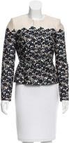 Tory Burch Floral Wool & Silk Blend Jacket w/ Tags