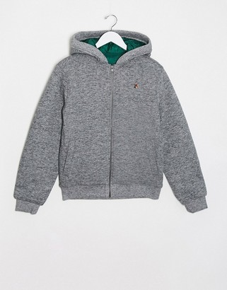 Jack and Jones zip sweat jacket