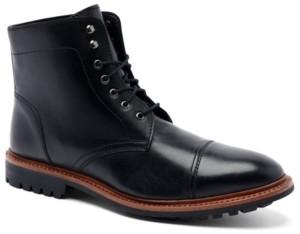 "Anthony Veer Men's Ranveer Cap-Toe Rugged 6"" Lace-Up Boots Men's Shoes"