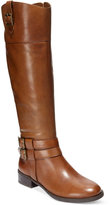 INC International Concepts Fahnee Leather Riding Boots, Only at Macy's