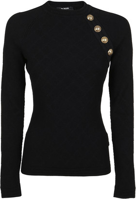 Balmain Crew Neck Pull Over
