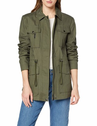 Meraki Amazon Brand Women's Military Cotton Jacket