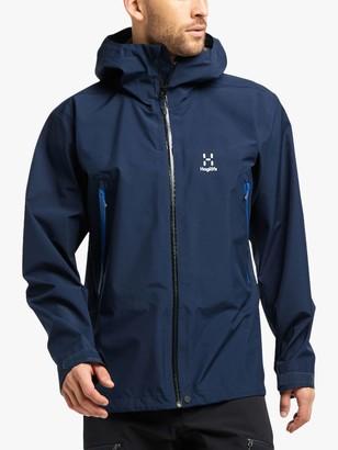Haglöfs Roc Men's Waterproof Gore-Tex Jacket, Tarn Blue