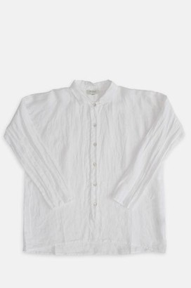 Crossley Lest Maxi Shirt In White - XS
