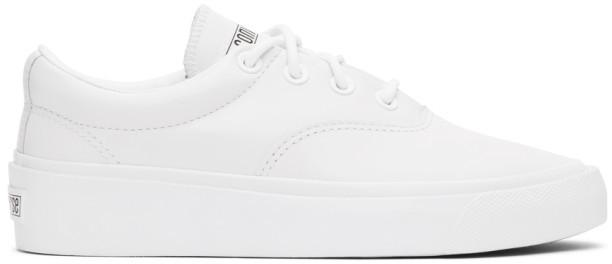Converse White Skid Grip CVO Sneakers