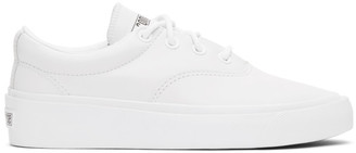 Converse White Skid Grip CVO Sneakers