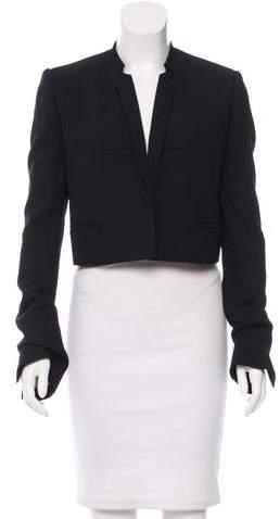 Haider Ackermann Cropped Virgin Wool Blazer w/ Tags