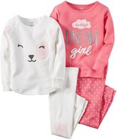 "Carter's Girls 4-14 4-pc. ""Daddy's Dream Girl"" Top & Bottoms Pajama Set"