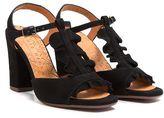 Chie Mihara Aubo Black Sandals