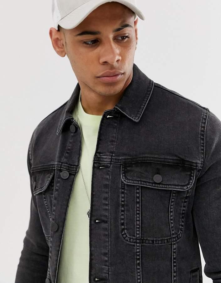 9a867f439dbc5 Asos Men's Denim Jackets - ShopStyle