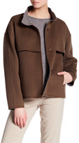 Lafayette 148 New York Tiegs Topper Wool Blend Jacket