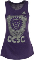 adidas Women's Orlando City SC Liquid Silver Shine Tank
