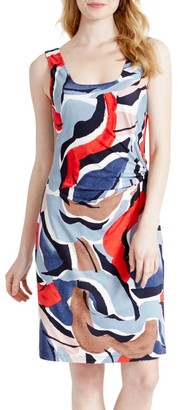 Nic+Zoe, Petites Americana Sleeveless Sheath Dress