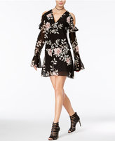 GUESS Luba Ruffled Off-The-Shoulder Dress