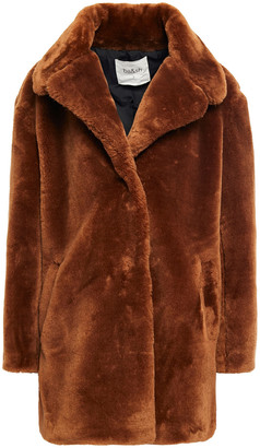 BA&SH Faux Fur Coat