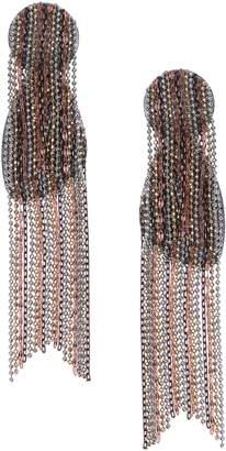 Nakamol Chicago Waterfall Fringe Earrings