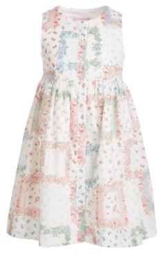 Bonnie Jean Toddler Girls Floral Patchwork Dress