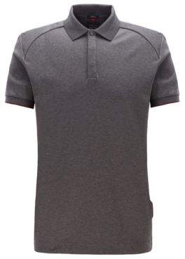 BOSS Slim-fit polo shirt in interlock cotton
