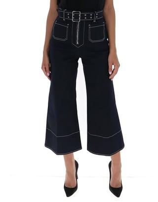 Miu Miu Belted Flared Jeans