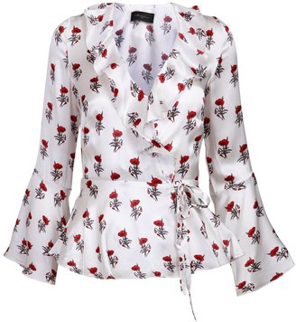 Jessica Russell Flint Wrap Shirt - Poppy
