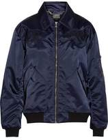 Markus Lupfer Embroidered Shell Bomber Jacket