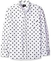 HUF Men's Bob Long Sleeve Shirt
