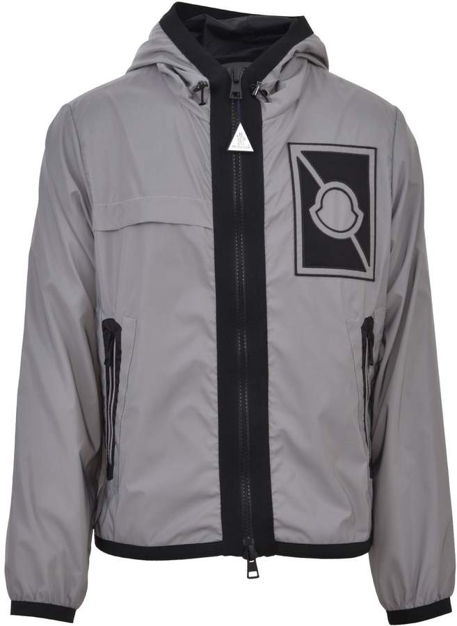 Moncler Grey Nylon Jacket