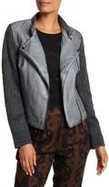 Desigual Chipre Faux Leather Jacket