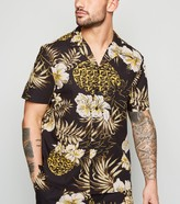 New Look Tropical Pineapple Print Shirt