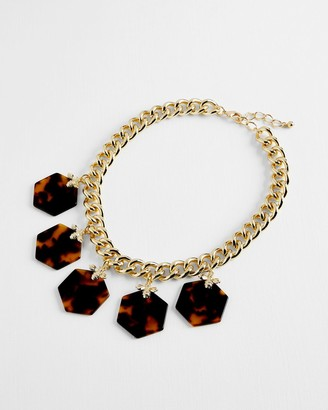 Ted Baker Bumblebee Honeycomb Chain Necklace