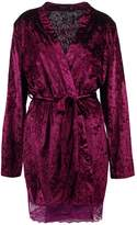 MinkPink CRUSH ON YOU Dressing gown plum