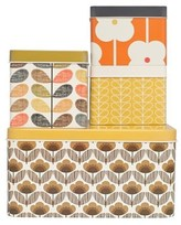 Orla Kiely Square Biscuit Tins Set of 4