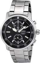 Seiko Men's SNN223 Dial With Chronograph Watch