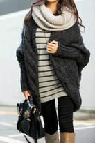 PinkUSA Charcoal Sweater Cardigan