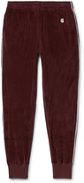 Todd Snyder + Champion Todd Snyder + Champion - + Champion Contrast-Tipped Cotton-Velour Track Pants