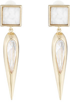 Alexis Bittar Geometric Square Tear Clasp Earring