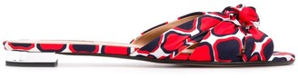 Aquazzura geometric leather sandals