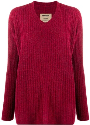UMA WANG Round Neck Knitted Jumper