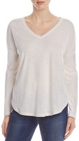 Lilla P Draped Shoulder Sweater