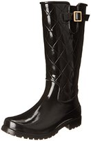 Sperry Women's Pelican Black Quilted Rain Boot