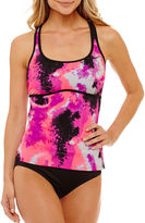 Nike Capsule Collection Tie Dye Tankini Swimsuit Top