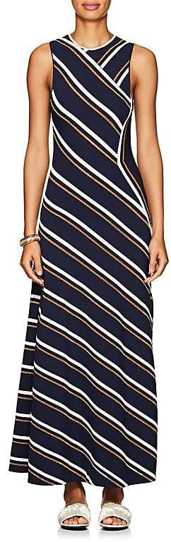 Cédric Charlier Women's Striped Sleeveless Maxi Dress