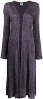 Thumbnail for your product : M Missoni Glittered Long Cardi-Coat
