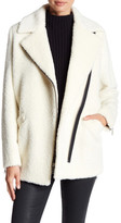 Andrew Marc Courtney Wool Blend Cocoon Coat