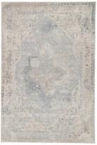 Blue Area Jaipur Living Bronde Handmade Medallion Gray/Light Rug, 2'x3