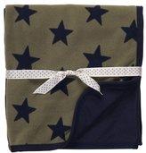 Carter's Cuddle-Me Blanket - Stars-Olive-One
